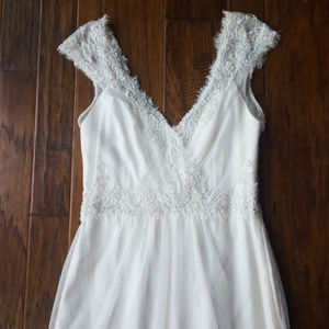 Amy Kuschel bohemian beaded wedding gown
